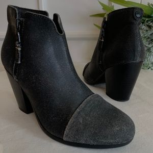 Rag & Bone Margot Leather Ankle Boot, SZ 38